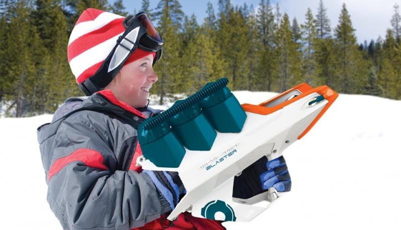 Pistola bolas de nieve Wham-O