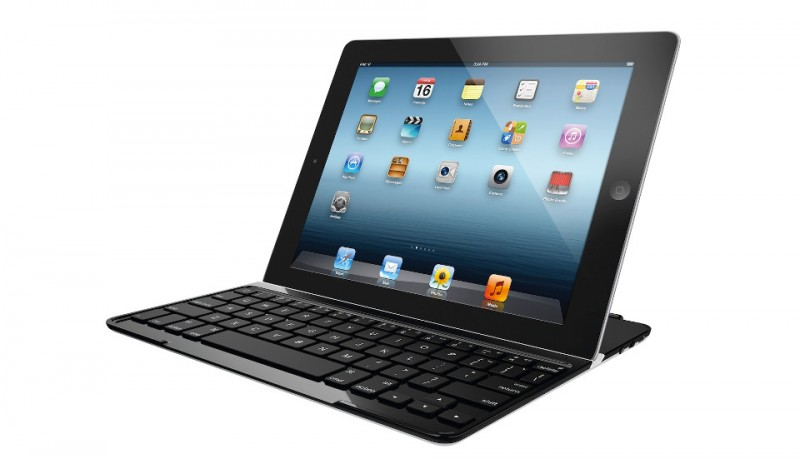Logitech funda teclado para iPad 2,3,Mini,Air