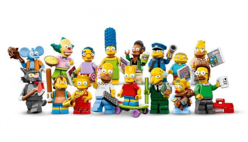 Minifiguras de Los Simpson de Lego
