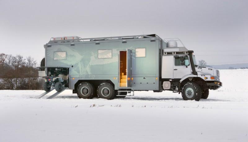 Mercedes Benz Zetros coche de exploración