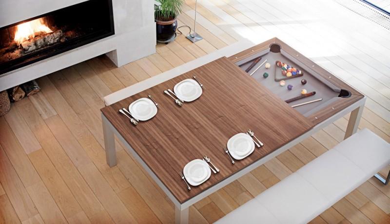Mesas de billar y para cenar Fusion