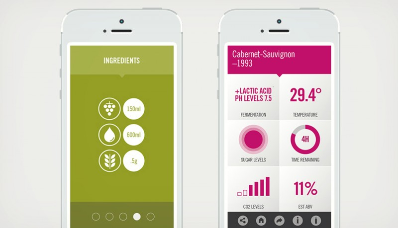 Haz tu vino en casa con una app y The miracle Machine