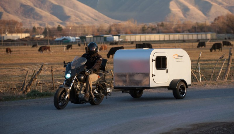 Caravana para motos Moby1-C2