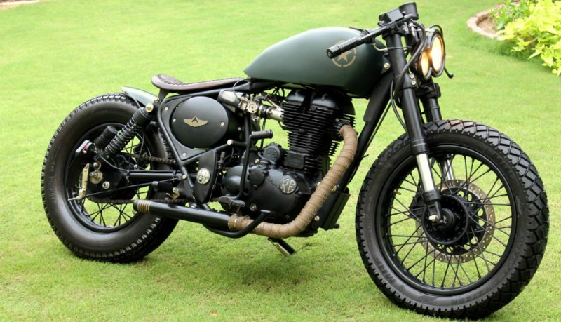 Royal Enfield 500CC de Rajputana Customs