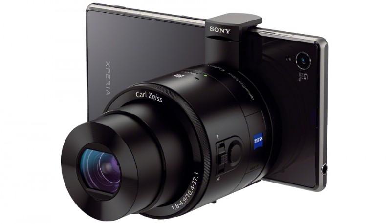 Sony Cyber-Shot QX objetivo-cámara para móviles