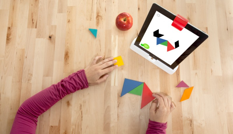 Osmo juegos para niños en el iPad