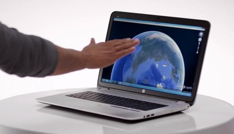 HP 17 Envy el primer portátil controlado mediante gestos