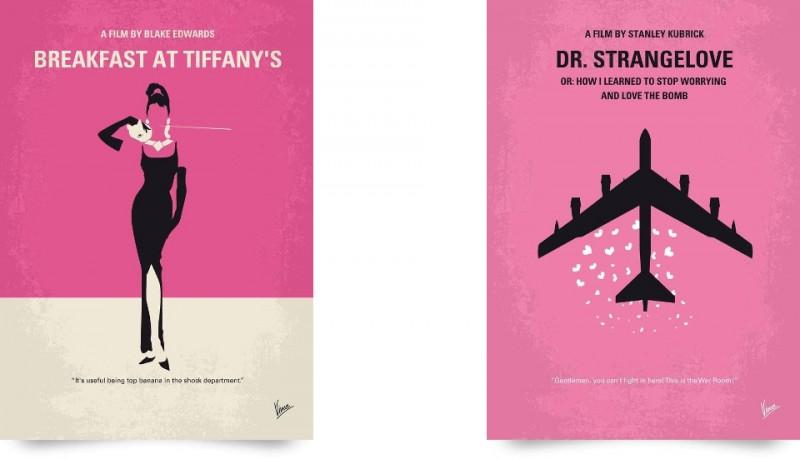 Posters de películas minimalistas de Chungkong