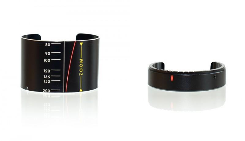 Pulseras y brazaletes reciclados de objetivos de cámaras de SDPNT