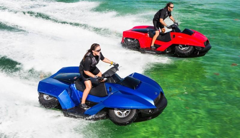 Quadski moto de agua y quad