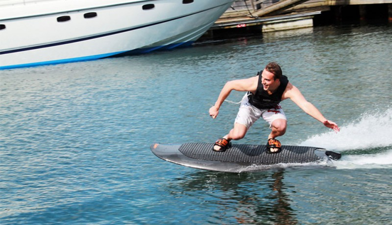 Radinn tabla de surf con motor