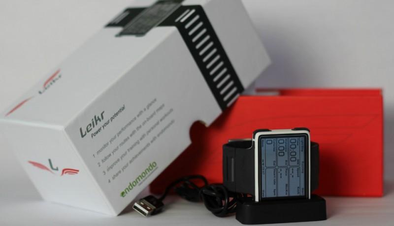 Leikr reloj GPS con mapas