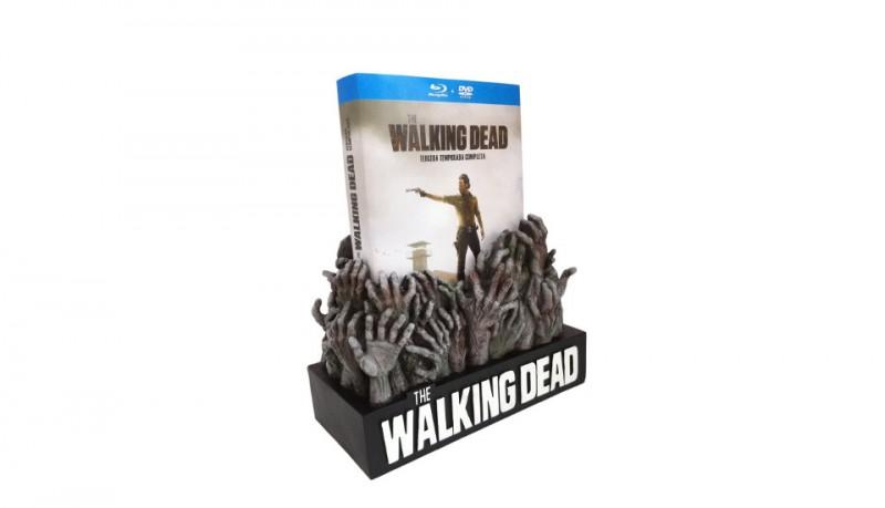 Walking Dead 3ª Temporada edición coleccionista Blu-ray