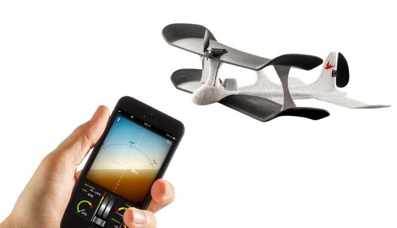 Smartplane avión controlado por el móvil