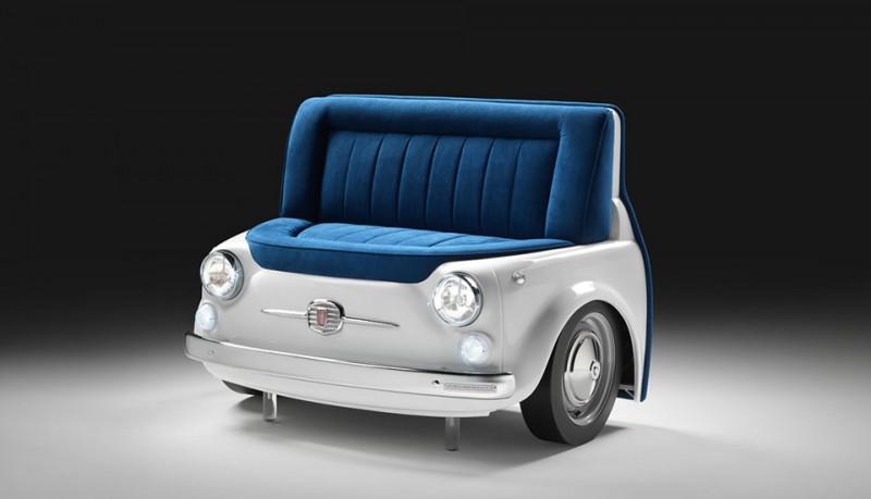 Sofá Fiat 500 Panorama
