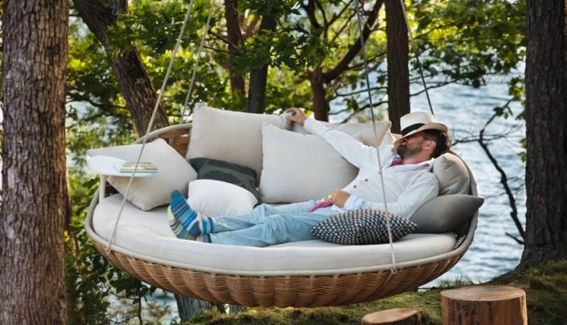 Swingrest cama de día de Daniel Pouzet