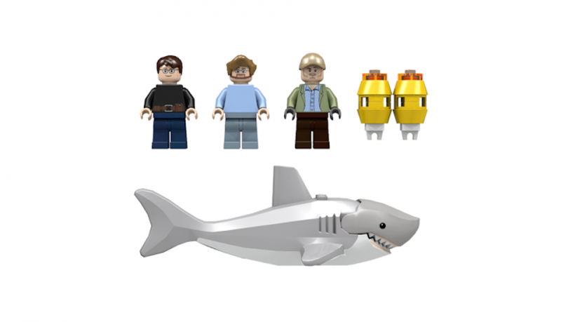 Lego Tiburón