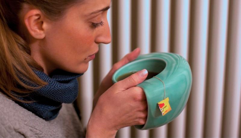 ToastyMUG taza que calienta las manos