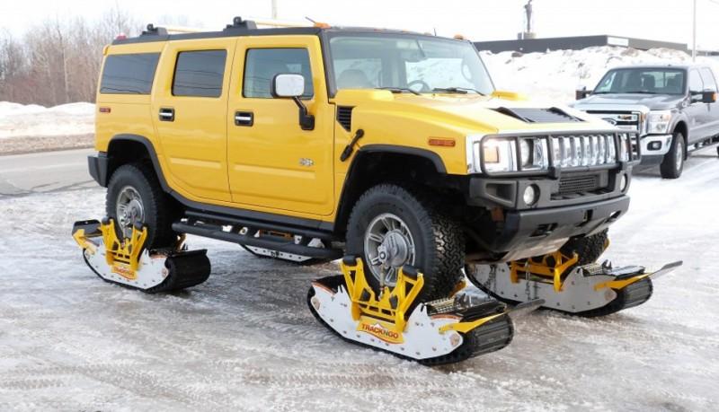 TRACK N GO convierte tu coche en un tanque