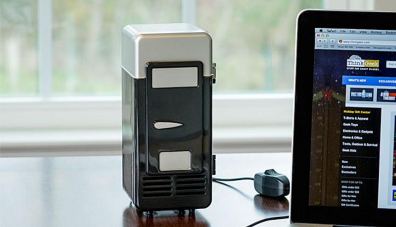 USB termoeléctrico enfría y calienta