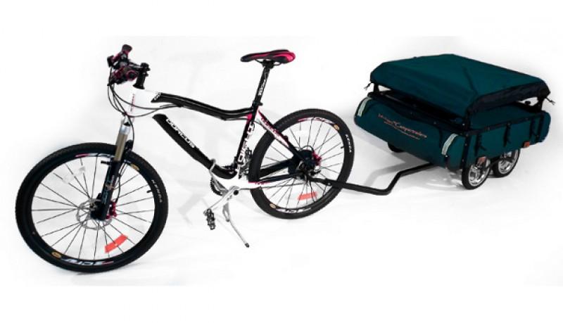 Tienda campaña bicicleta Bushtrekka