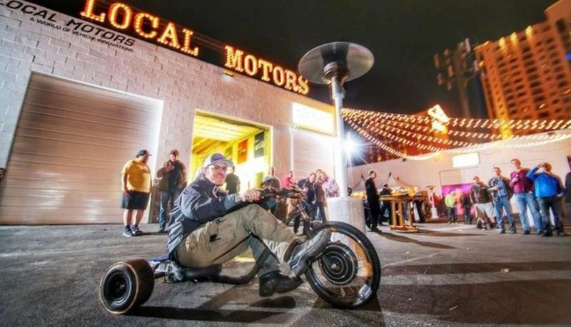Verrado triciclo eléctrico