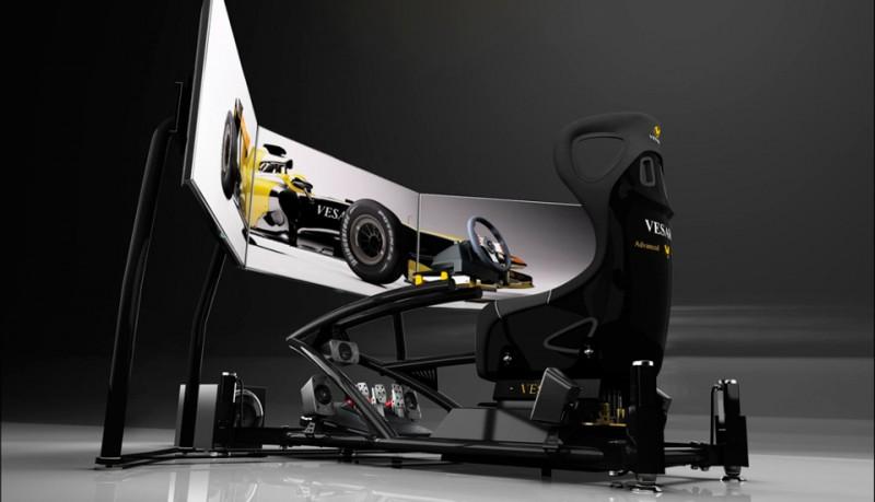 Vesaro I Evolve Extreme Special Edition el simulador de coches definitivo