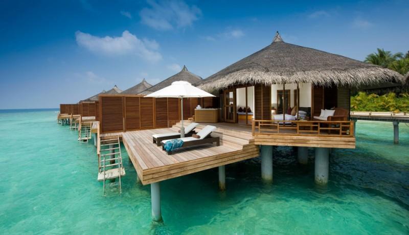 Kuramathi resort de islas en Maldivas
