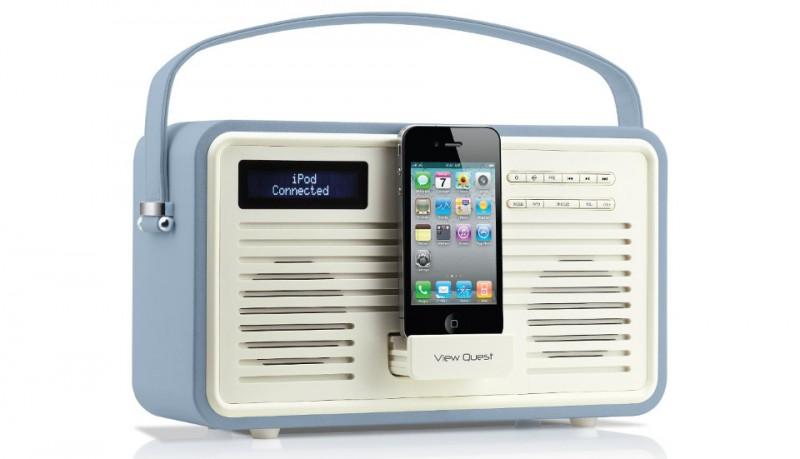 View Quest Retro Radio para iPhone y iPod