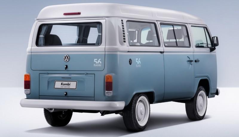 Volkswagen Kombi microbús última edición