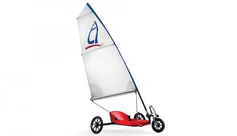 Wind Chaser el triciclo movido por el aire